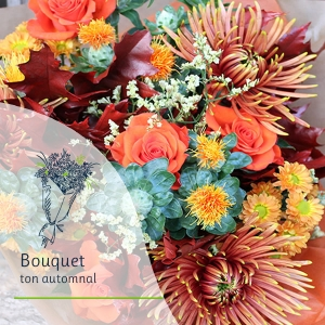 Bouquet Surprise - Ton automnal