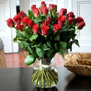 Bouquet de roses rouge